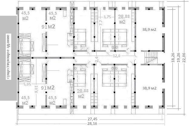 стандартной 5- этажки на